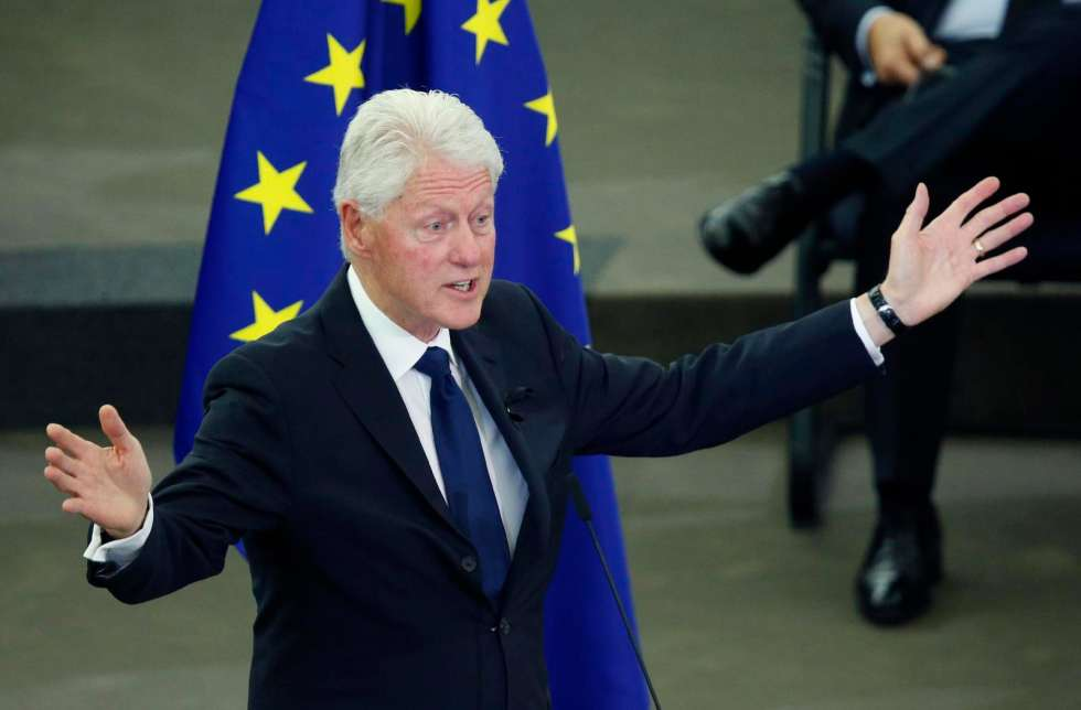 Clinton can still deliver a speech
